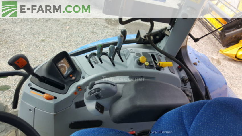 New holland t6 140 electro command
